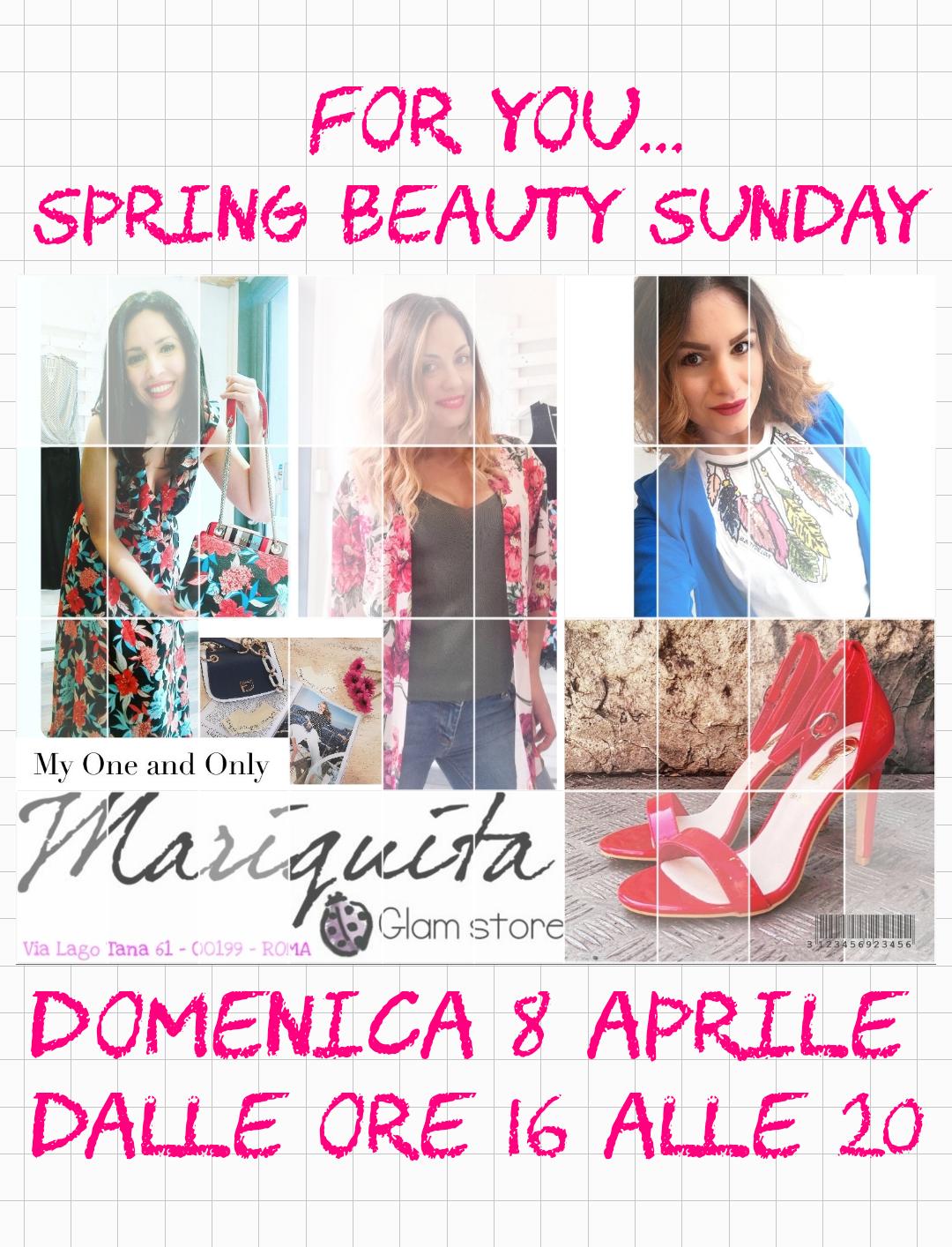 Spring Beauty Sunday